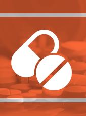 Imagem com o logo de medicamentos importados