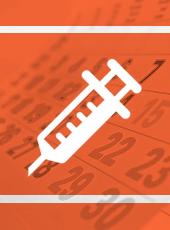 Imagem com o logo de calendário vacinal