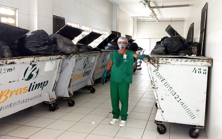 Resultado de imagem para Projeto de reciclagem do Hospital Regional Norte reduz em 8 toneladas volume de lixo descartado