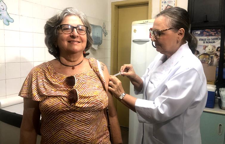 Vacinação contra a gripe vai até dia 31 de maio