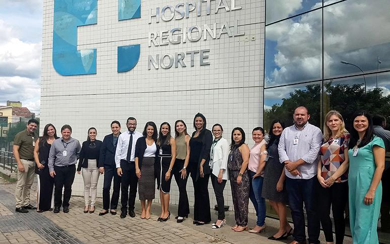 Resultado de imagem para Hospital Regional Norte recebe certificação nacional de excelência em gestão