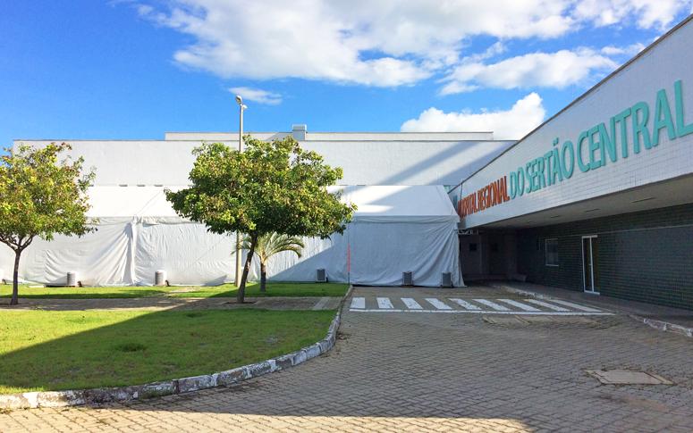 Começa a funcionar hospital de campanha no Sertão Central ...
