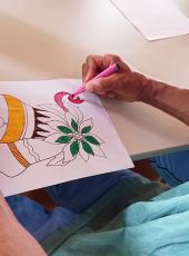 Arteterapia auxilia no tratamento de pacientes internados no HSM