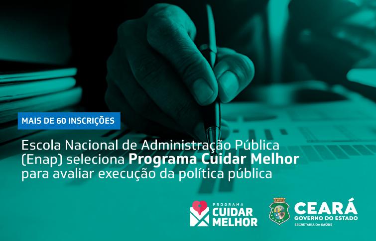 """""""Cuidar Melhor"""" é um dos 5 programas brasileiros selecionados pela Enap para receber assessoria de avaliação de políticas públicas"""